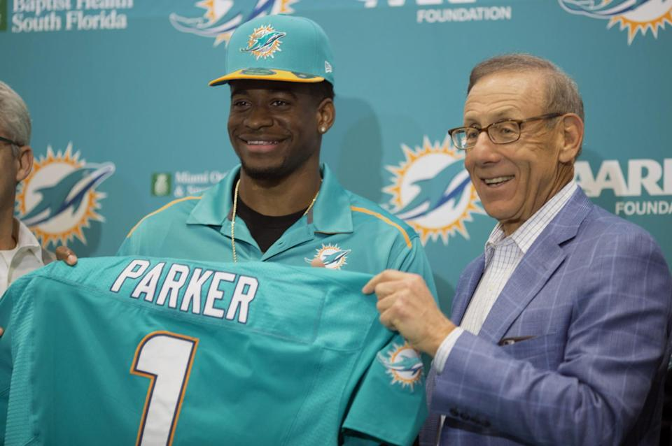<p>A real estate tycoon, valued at $7.4billion, who owns the Miami Dolphins. </p>