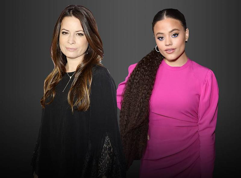 Holly Marie Combs, Sarah Jeffery