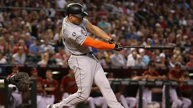 The San Francisco Giants joined the St Louis Cardinals in pulling out of the race to sign 2017 NL MVP Giancarlo Stanton.