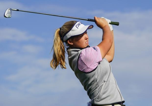 Canada's Brooke Henderson 2 shots back at LPGA's final major