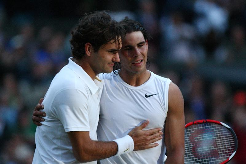 We Re The Messi And Ronaldo Of Tennis Federer Relishes Nadal Rivalry
