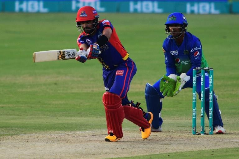 Babar Azam hit a 53-ball 65, hitting two sixes and five boundaries