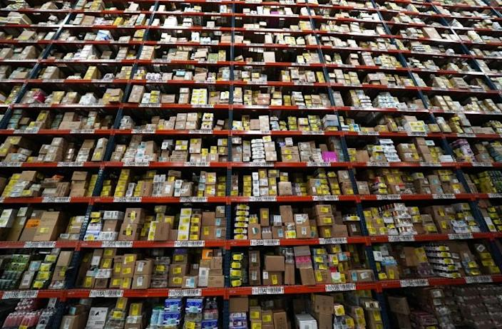 The company offers more than 10,000 products (AFP Photo/TIMOTHY A. CLARY)
