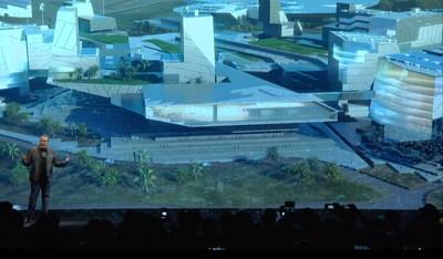 Blockchains founder and CEO, Jeffrey Berns, formally announces plans to build a blockchain-based smart city on 67,000 acres of land in northern Nevada. The city designed in Innovation Park will join the blockchain technology with artificial intelligence (AI), 3D printing and nanotechnology. Concept Architecture by EYRC Architects + Tom Wiscombe Architecture