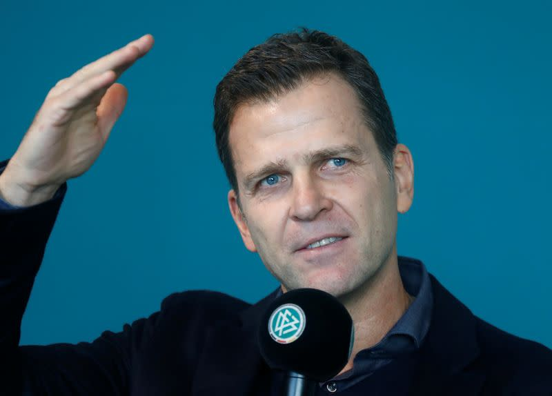 Germany soccer team manager Bierhoff attends the DFB Academy Leadership Festival 2019 in Frankfurt