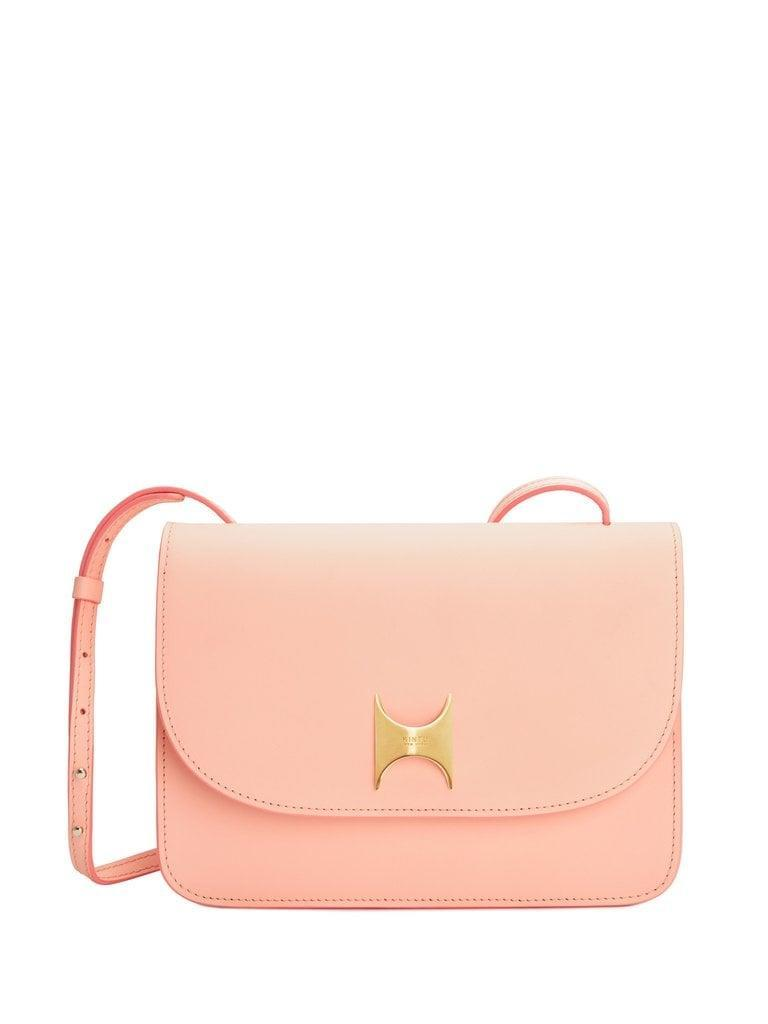 <p>You can never go wrong carrying this chic and classic <span>Kintu New York Crossbody</span> ($550). Plus, the pink is so fun.</p>
