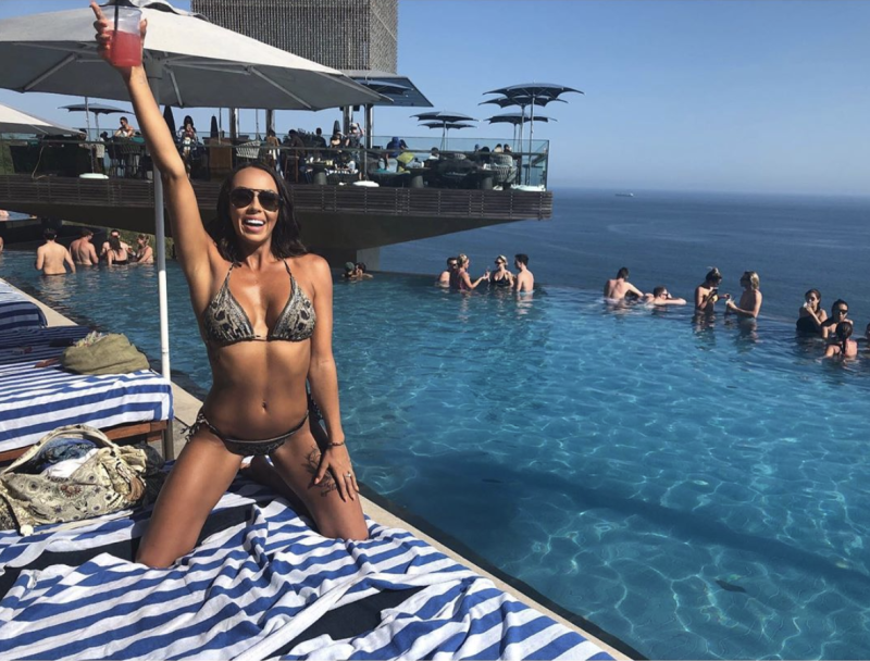 MAFS natasha bikini photos instagram