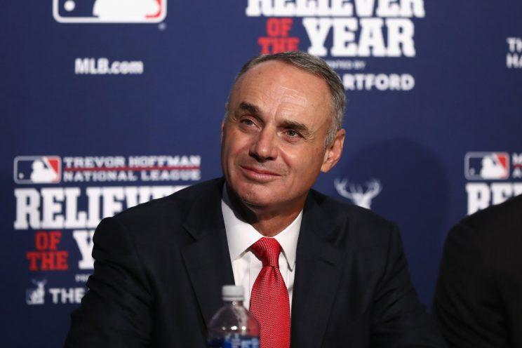 For the first time in 21 years, there's talk of a baseball lockout. (Getty Images/Elsa)