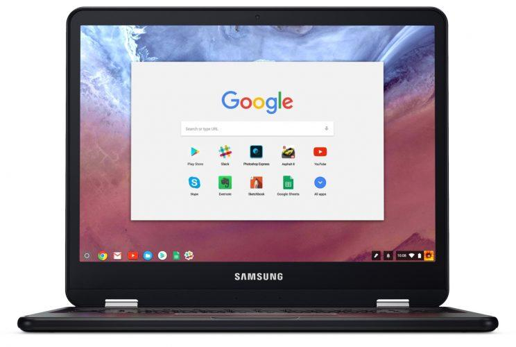 Samsung Chromebook Pro and Plus have different processors.