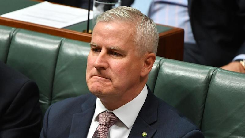 Deputy PM Michael McCormack has vowed to dig in as Nationals leader after a damaging leak