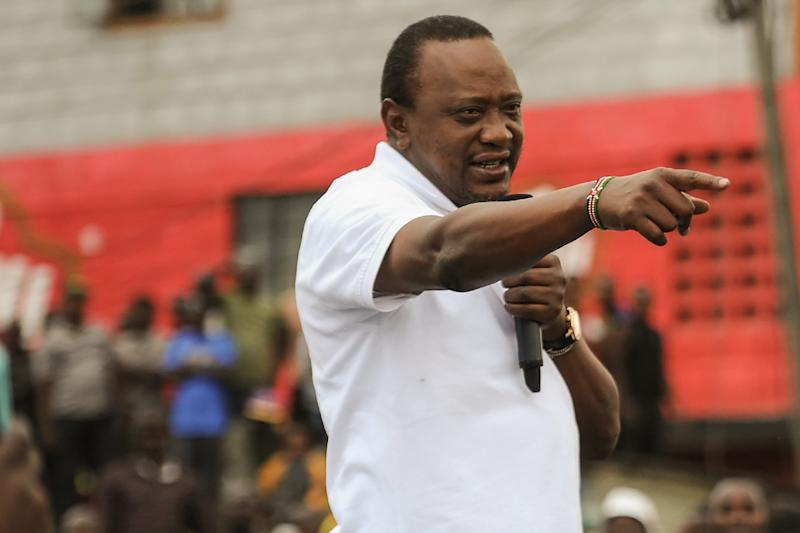 Uhuru Kenyatta -- scion of the elite, but also a crowd-pleaser