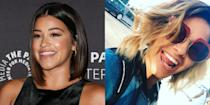 """<p>The """"Jane the Virgin"""" star shocked us with some seriously sexy blonde tresses this summer. The blonde works for her, don't you think? <i>(Photos: Getty/Instagram/July 2016)</i> </p>"""