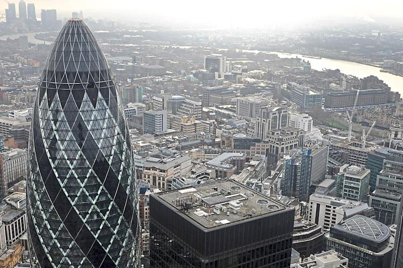 Ali El-Fouani is studying at the St Mary Axe campus of BPP Business School: PA