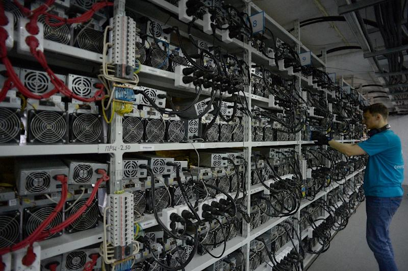 A new report says hackers have used a leaked US government software tool to step up illicit mining of cryptocurrencies like bitcoin and monero