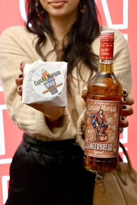 Captain Morgan Celebrates New Gingerbread Spiced With Big Gay Ice Cream. Image Credit: Noam Galai/Getty