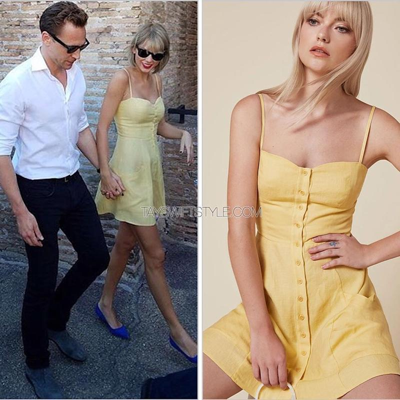7390d977bc07 Taylor Swift s Girly Style Tour Continues! See The Sunny Summer ...