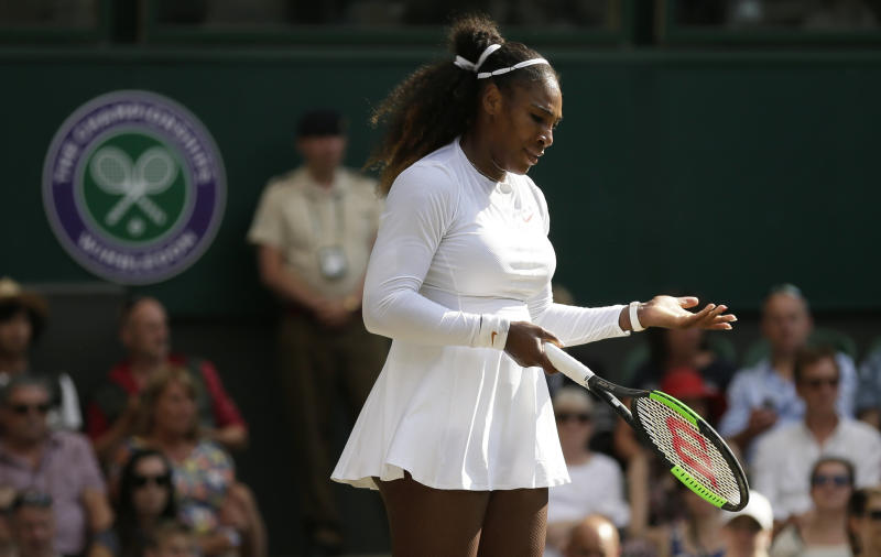 Serena Williams calls 'discrimination' over number of anti-doping tests