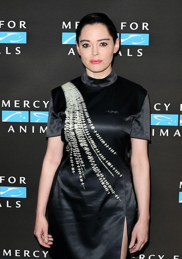 It's alleged that officers were used to pose as freelance journalists in order to get information from the likes of actresses Rose McGowan. Source: Getty