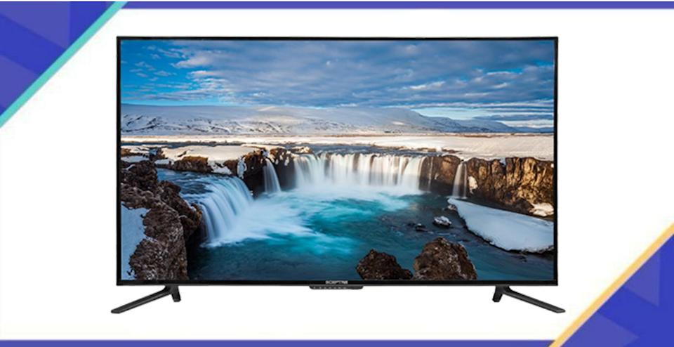 A TV that anyone would want on their wall. (Photo: Walmart / Yahoo Life)