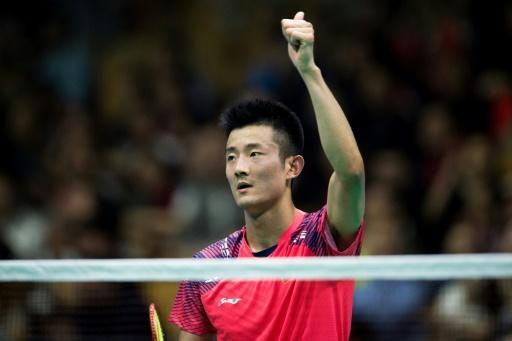 Olympic champion Chen Long, pcitured, is joined by this year's All England champion Shi Yuqui - and the man he conquered in the final, the evergreen Lin Dan, in the China team for the Thomas and Uber cups in Bangkok