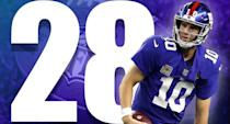 <p>The Giants looked like a wreck in Dallas. Eli Manning seems to be constantly concerned about the rush. When he does throw, he still looks like a quarterback in decline, which he was for the two seasons before this one. (Eli Manning) </p>