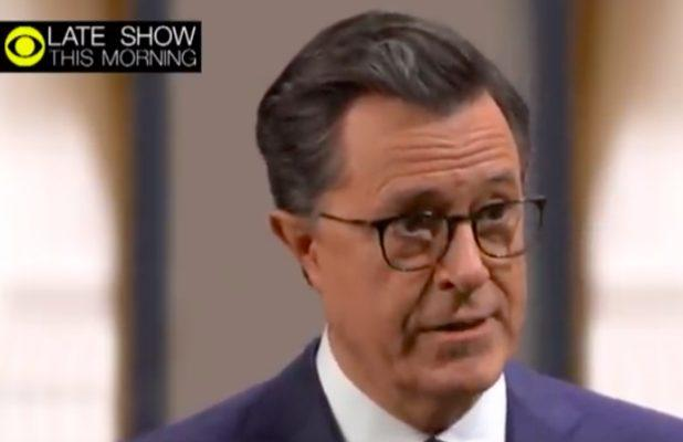 Stephen Colbert Hijacks Gayle King's Ralph Northam Interview (Video)