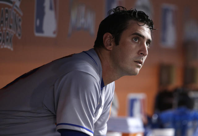 Matt Harvey has had a tough time coming back from arm surgery. (AP Photo)