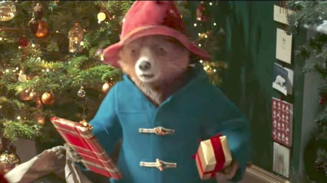 """Some people believe a new Christmas ad featuring beloved children's character Paddington includes a four-letter word other than """"bear."""""""