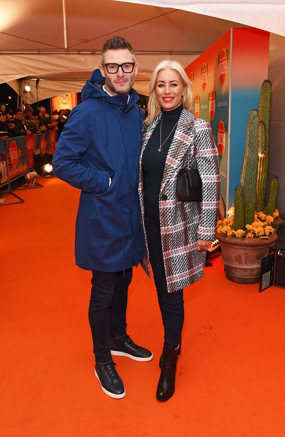 Eddie Boxshall and Denise Van Outen arrive at the gala performance of Cirque De Soleil's LUIZA (Photo by David M. Benett/Dave Benett/Getty Images)