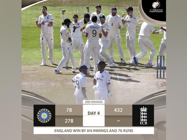 India lost eight wickets on Saturday morning. (Photo/ ICC twitter)