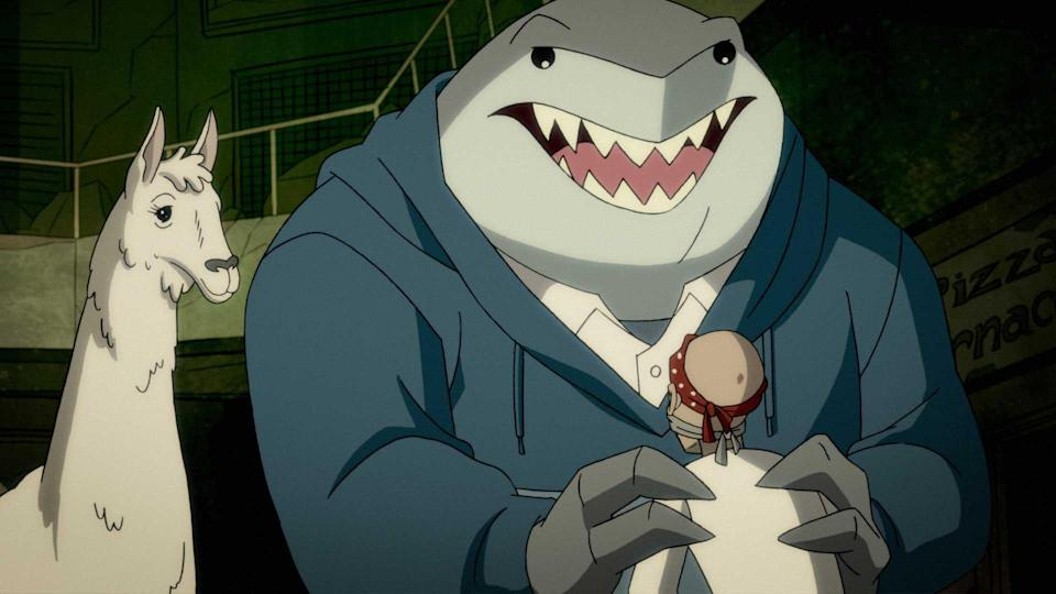 The animated Harley Quinn series has made a fan favorite of King Shark.