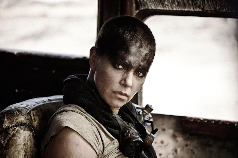 MAD MAX: FURY ROAD, Charlize Theron, 2015. ph: Jasin Boland/Warner Bros. Pictures/courtesy Everett Collection