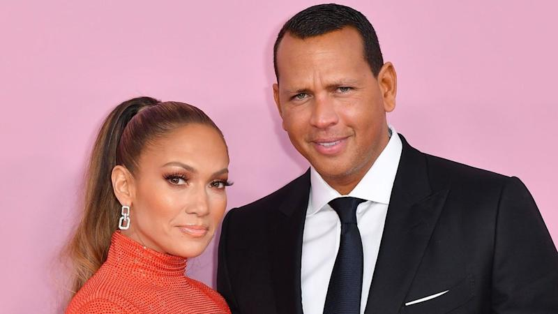 Jennifer Lopez and Alex Rodriguez Have Engagement Party in Los Angeles