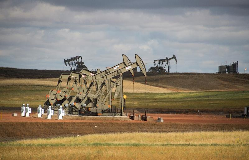 US shale production could become crucial for global supply in coming years (AFP Photo/Robyn BECK)