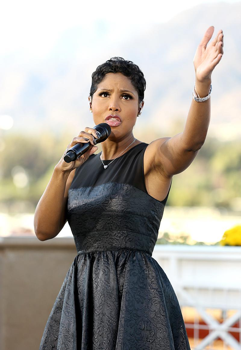 <p>Braxton, 49, is one of four artists on this list who won the Grammy for Best New Artist. The others are Carey, Adele, and Carrie Underwood. Braxton's top sellers are her first two albums — 1993's Toni Braxton and 1996's Secrets (8 million each). (Photo: Matt Sayles/Invision for Breeders' Cup/AP Images) </p>