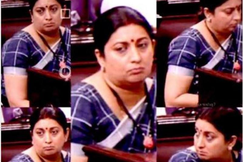 Smriti Irani Sums Up 2020's Mood with Hilarious Meme of Herself on Insta