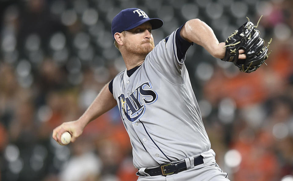 Alex Cobb finally has a home after agreeing to a four-year, $57 million deal with Baltimore. (AP)