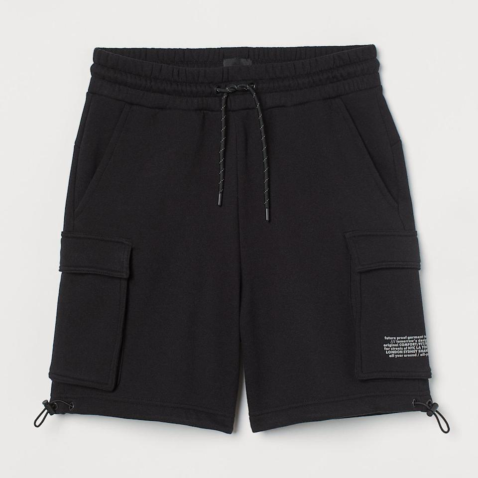 H&M Relaxed Fit Cargo Shorts
