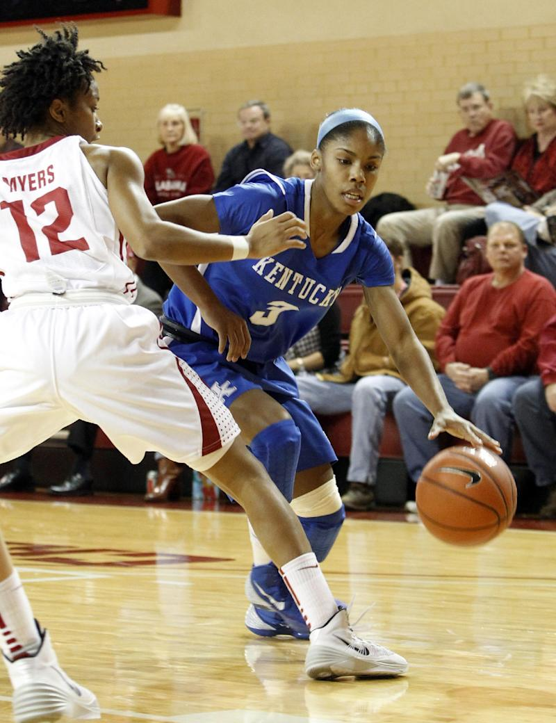 O'Neill helps No. 6 Kentucky women beat Alabama