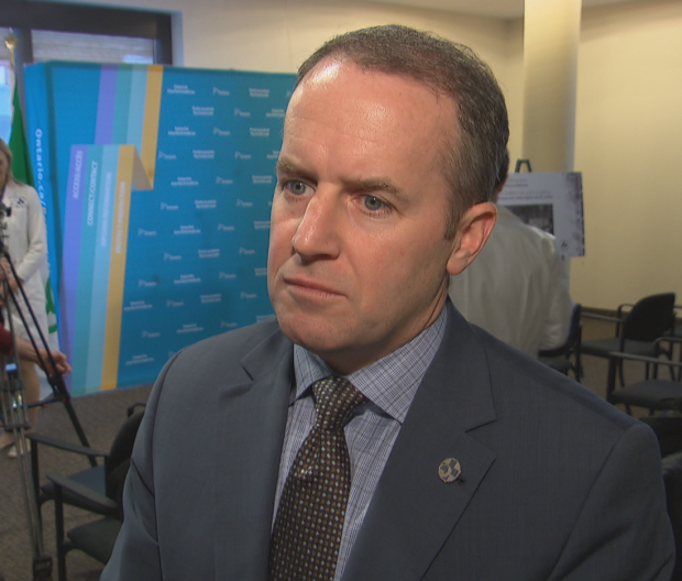 Seen here in 2016, Cameron Love, president and CEO of the Ottawa Hospital, says their backlog of surgeries will only increase due to the pressure caused by the third wave of COVID-19.