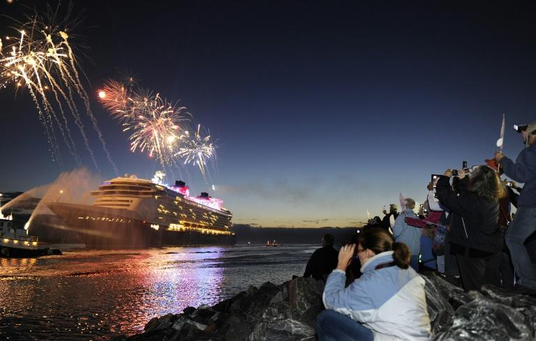 Chapek's list of accomplishments includes adding more ships to Disney Cruise Line (AFP Photo/HANDOUT)