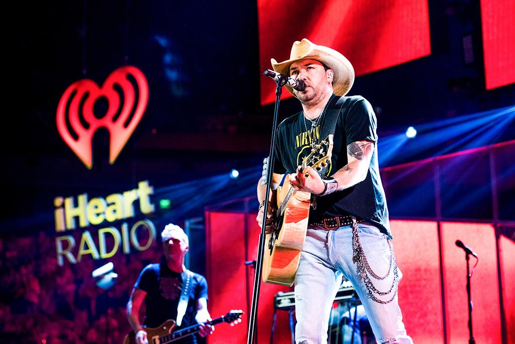 <p>Jason Aldean performs at the 2017 iHeartCountry Festival, A Music Experience by AT&T at The Frank Erwin Center on May 6, 2017 in Austin, Texas. (Photo: Chris Owyoung) </p>