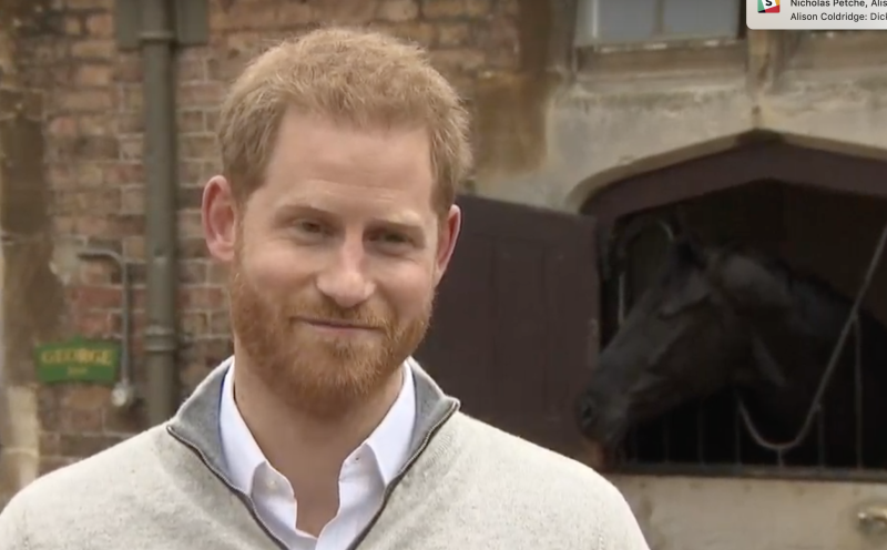 Prince Harry tells of 'the most awesome  experience imaginable'