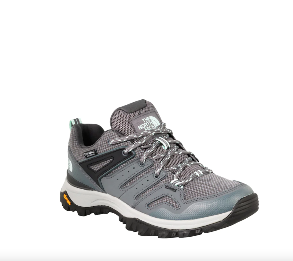 The North Face 'Hedgehog Fastpack II' Trail Sneaker in Zinc Grey (Photo via DSW)