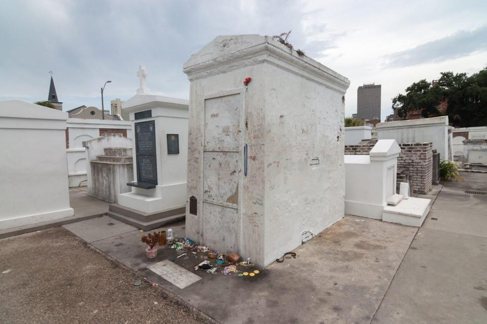 New Orleans Tomb of Marie Laveau