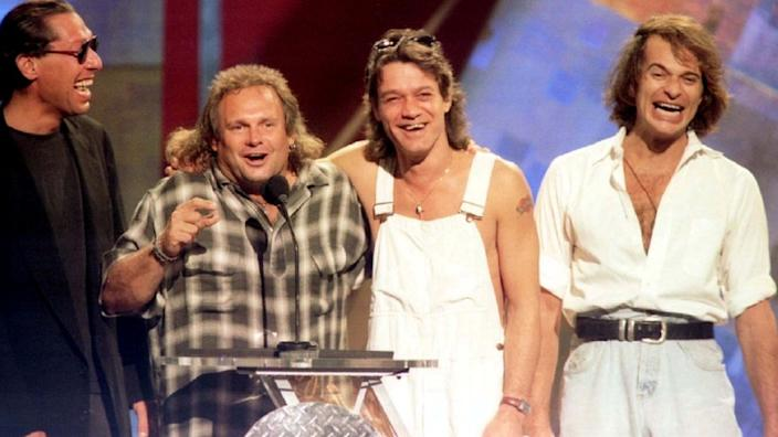Members of the band Van Halen