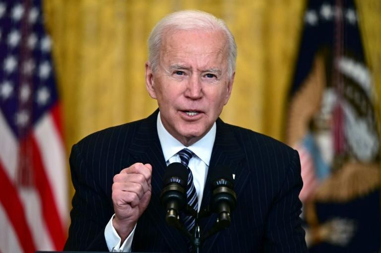 The media have two months worth of questions for US President Joe Biden