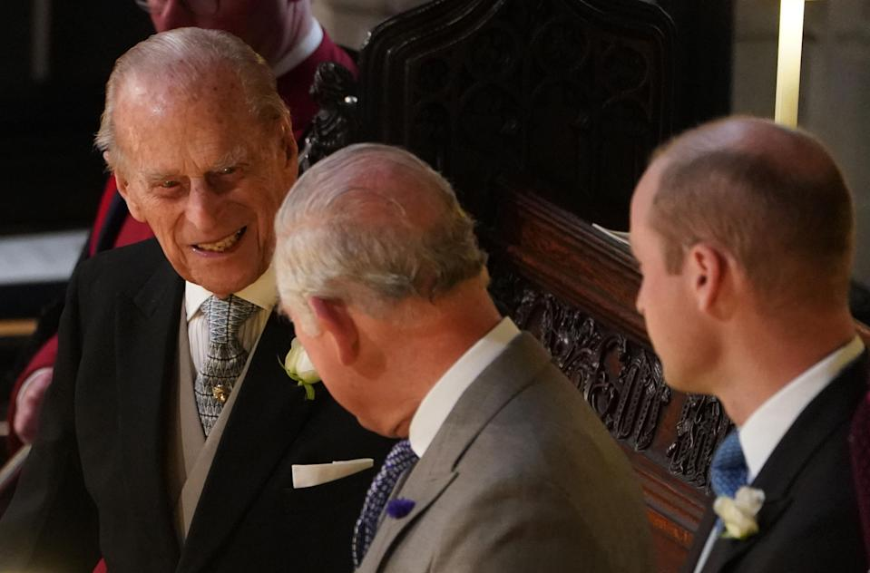 <p>When Prince Philip smiled for the first time in 50 years. </p>