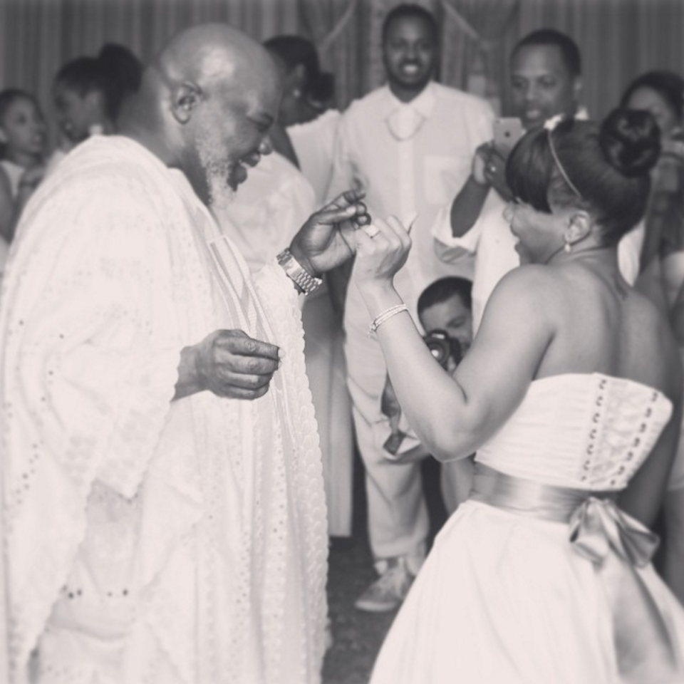 Td Jakes Daughters Wedding.6 Beautiful Times Celebrity Dads Proudly Walked Their