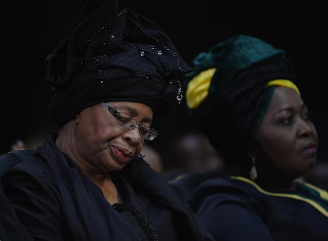 Mandela's widow to resume public life after mourning 'best
